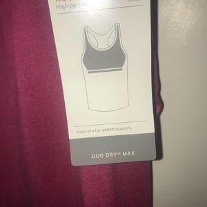 Champion Tops - Champion CH Duo Dry Max Tank W/Bra NWT $26.99